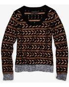 Rag & Bone Lisbeth Multi Yarn Sweater - Lyst