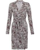Diane von Furstenberg New Jeanne Two Wrap Dress - Lyst