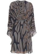 Elie Saab Printed Kaftan Dress - Lyst