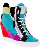 Giuseppe Zanotti Hidden Wedge Sneakers - Lyst