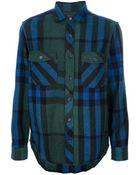 Burberry Brit Check Shirt - Lyst