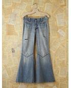 Free People Vintage Wide Flare Jeans - Lyst
