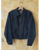 Free People Vintage Wrangler Denim Jacket - Lyst