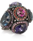 Lanvin Tutti Frutti Swarovski Crystal Ring - Lyst