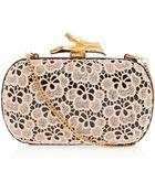 Diane von Furstenberg Lytton Small Lace Clutch Bag - Lyst
