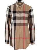 Burberry Brit House Check Cotton Shirt - Lyst