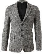 Comme des Garçons Tailored Woolmohair Jacket - Lyst