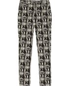 Lela Rose Everyday Patterned Cotton Blend Brocade Pants - Lyst