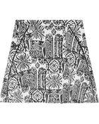 Maiyet Handprinted Cottontwill Skirt - Lyst