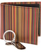 Paul Smith Vintage Multistriped Wallet and Key Ring Set - Lyst