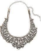 Valentino Swarovski Crystal Necklace - Lyst