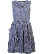 Suno Crochet Lace Dress - Lyst