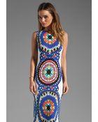 Mara Hoffman Pow Wow Backless Column Dress - Lyst