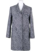 Thom Browne Coat in Light Cotton - Lyst
