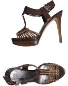 Guess Sandals - Lyst