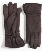 Grandoe Suede Gloves - Lyst