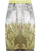Preen By Thornton Bregazzi Katlin Printed Organza Skirt - Lyst