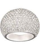 Swarovski Stone Crystal Ring - Lyst