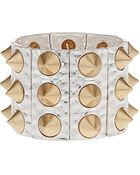 Topshop Spike Stretch Bracelet - Lyst