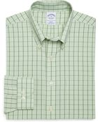 Brooks Brothers Supima Cotton Non Iron Slim Fit Gingham with Overcheck Sport Shirt - Lyst