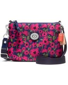 Coach Poppy Floral Print Swingpack - Lyst