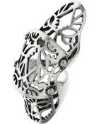 Topshop Shield Armour Ring - Lyst