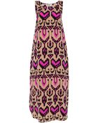 Alice By Temperley Long Sovereign Silk Dress - Lyst