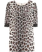 Marc Jacobs Leopard Print Top - Lyst