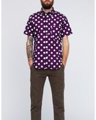Mark Mcnairy New Amsterdam Short Sleeve Big Dot Button Down Shirt  - Lyst