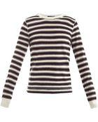 Dolce & Gabbana Rawedge Stripe Top - Lyst