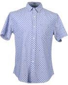 Band of Outsiders Short Sleeve Shirts - Lyst