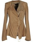 Blancha Leather Outerwear - Lyst