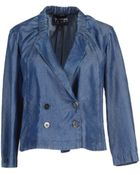 Emporio Armani Denim Outerwear - Lyst