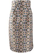 Schumacher Highwaist Print Fun Skirt - Lyst