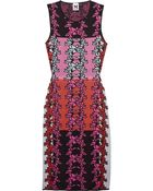 M Missoni Cutout Knitted Cottonblend Dress - Lyst