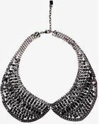 DANNIJO Peter Pan Collar Necklace - Lyst