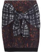 3.1 Phillip Lim Printed Silk Skirt - Lyst