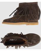 Sachet Shoe Boots - Lyst