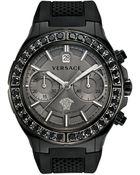Versace Dv1 Automatic Chronograph Watch - Lyst