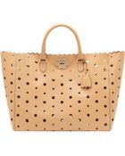 Mulberry Oversized Cut Out Flower Tote - Lyst