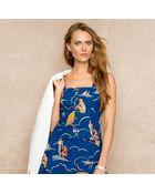 Ralph Lauren Blue Label Nautical print Camisole - Lyst