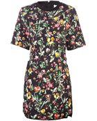 3.1 Phillip Lim Short Embroidered Dress - Lyst