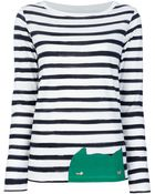 Cats By Tsumori Chisato Striped Top - Lyst