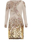 Matthew Williamson Embellished Long Sleeve Dress - Lyst