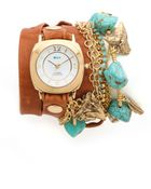 La Mer Collections Charm Wrap Watch - Lyst