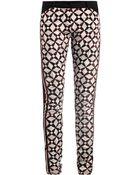 Balenciaga Mosaic Print Midrise Skinny Jeans - Lyst
