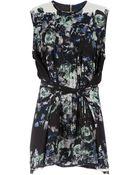 Sharon Wauchob Floral Print Dress - Lyst