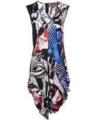Zero + Maria Cornejo Aura V Neck Dress - Lyst
