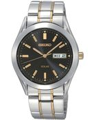 Seiko Mens Two-Tone Stainless Steel Dress Watch - Lyst