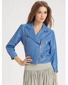 Cut25 Leather Jacket - Lyst